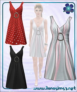 Elegant and versatile dress, recolorable