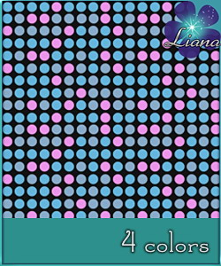 Small dots pattern in 4 colors - you can use it for fashion, bedding and decor! See the alternate colors for more combinations!