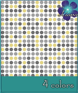 Small dots pattern in 4 colors - you can use it for fashion, bedding and decor!