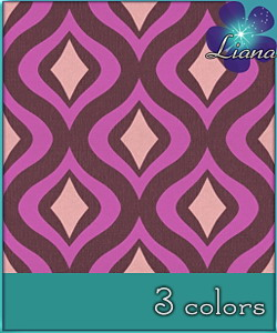 Waves pattern in 3 colors - best suited for wallpapers and floors! See the alternate colors for more combinations!
