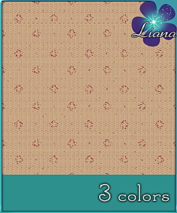 Pattern in 3 colors - best suited for wallpapers, carpets, furniture and clothes!