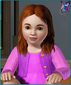 MaryAnn Johnson - sims3 model - toddler girl