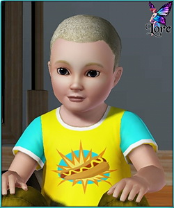 John Mayer - sims3 model - toddler boy