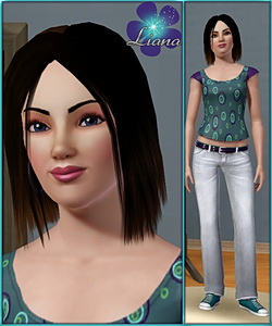 Ellie Moore - new sims 3 model - young adult female!